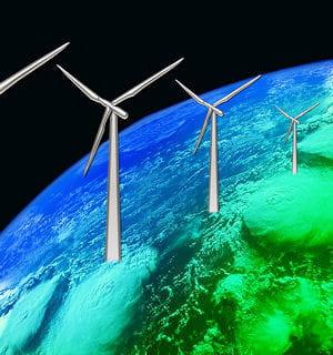 les éoliennes sont accusées de ralentir la rotation de laterre, ce qui aura