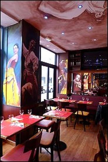 Tapas et Paella  - le flamenco est à l'honneur -