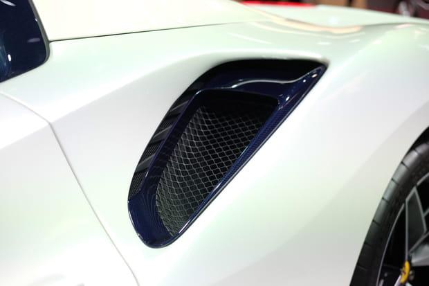 Des prises d'air pour l'aérodynamique
