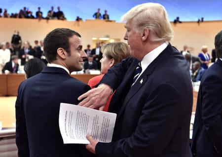 G20 : Trump et Macron