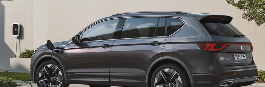 Seat Tarraco: une version hybride rechargeable, quelle autonomie? [infos]