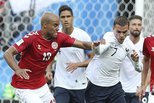Pauvre spectacle à Moscou, le résumé du match entre la France et le Danemark