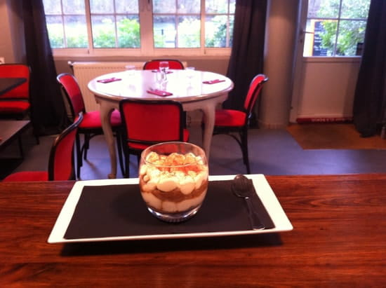 Le K Restaurant Italien  - Notre Tiramisu  -   © le k samois sur seine
