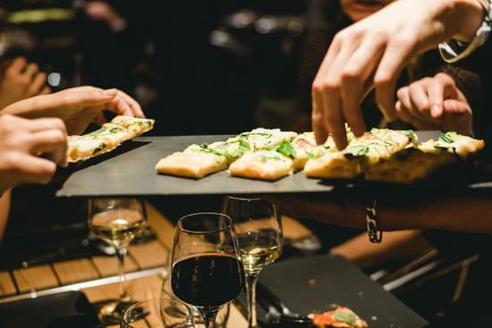 Plat : Pizza sur Seine  - Pizza -   © Pizza sur Seine