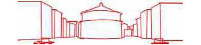 2 - 'je pars de la peinture, et je dessine au fil rouge le contours des