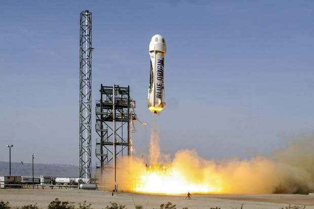 Blue Origin, le concurrent de Space X en retard