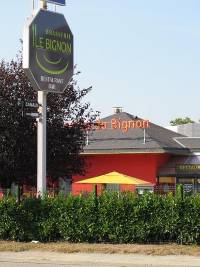 Brasserie Le Bignon  - Enseigne Exterieure Restaurant Le Bignon -