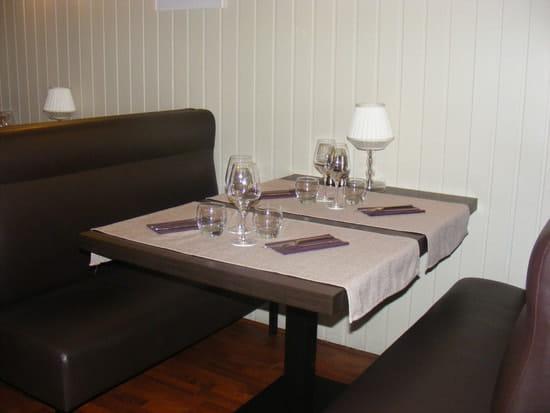 La Table du Grand Marché   © salle banquette