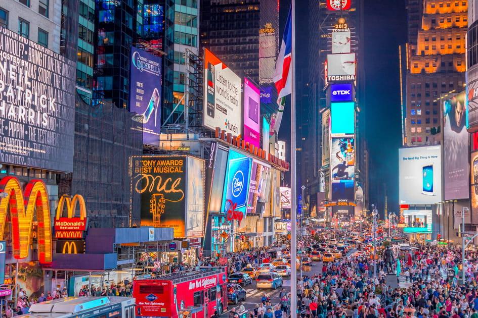 Times Square: portrait d'un quartier hyperactif