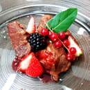 Plat : Révélant  - Veau aux fruits rouges -   © 2020