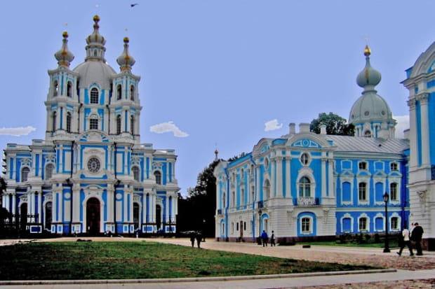 Le couvent Smolny de Saint-Pétersbourg