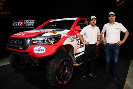 Fernando Alonso avec Toyota