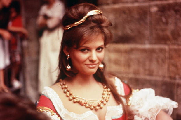Claudia Cardinale en 1962dans Cartouche
