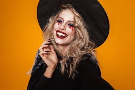 Maquillage de sorcière