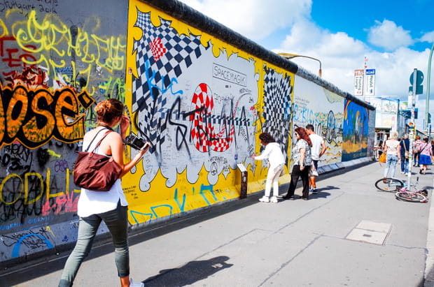 Parcourir l'East Side Gallery