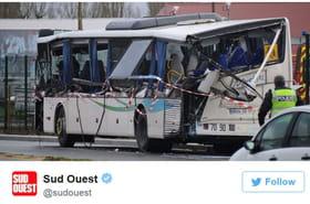 Accident à Rochefort (Charente-Maritime): sur Twitter, images chocs et émotion