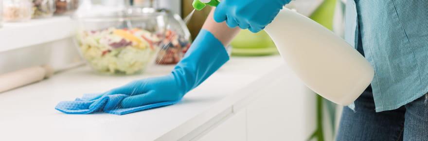 Comment utiliser l'alcool ménager pour désinfecter et nettoyer la maison?