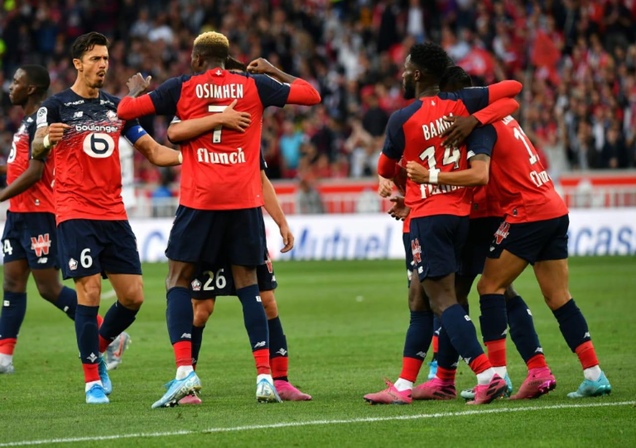 Ligue 1: Lille assure contre Angers 2-1avant la Ligue des champions