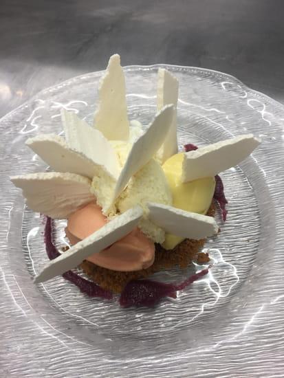 Dessert : La Pommeraie  - Vacherin revisité -   © non