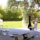 La Table Lionel GIRAUD  - Notre terrasse ombragée pour un déjeuner romantique -   © Le Petit Gastronome