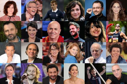 Les 50 personnalités qui feront positiver en 2015 [CLASSEMENT]