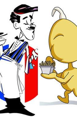 les belges et les français aiment bien se lancer quelques piques!