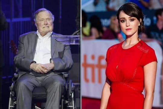 George Bush père: l'ancien président accusé d'attouchements sexuels par une actrice