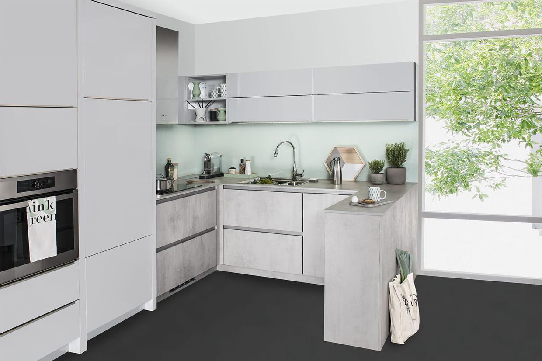 Une cuisine ouverte avec petit muret - Muret de cuisine ...