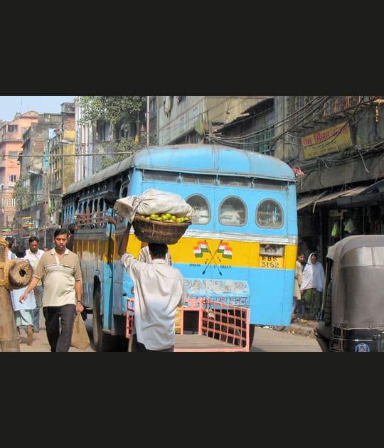 Fin de la traversée indienne: Calcutta