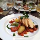 Plat : L'Entre Temps Restaurant  - Rouelles de poulet -