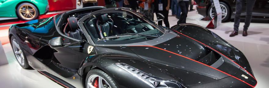 Ferrari, Porsche, Maserati... les plus belles voitures de luxe