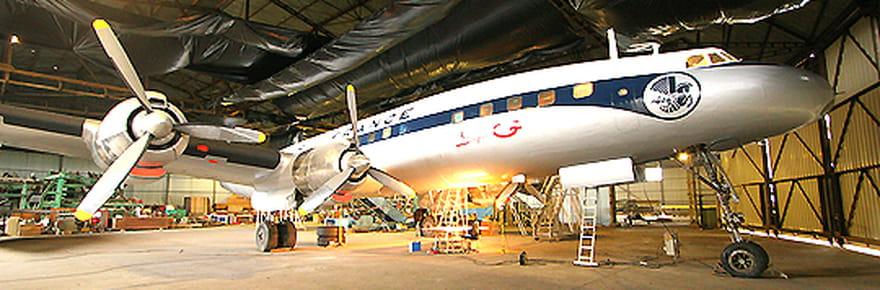 Le sauvetage d'un avion de légende