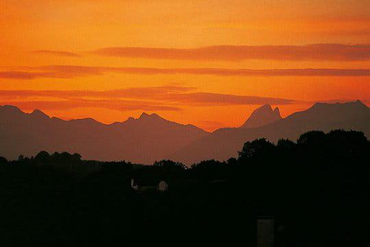 Pic spectaculaire des Pyrénées françaises