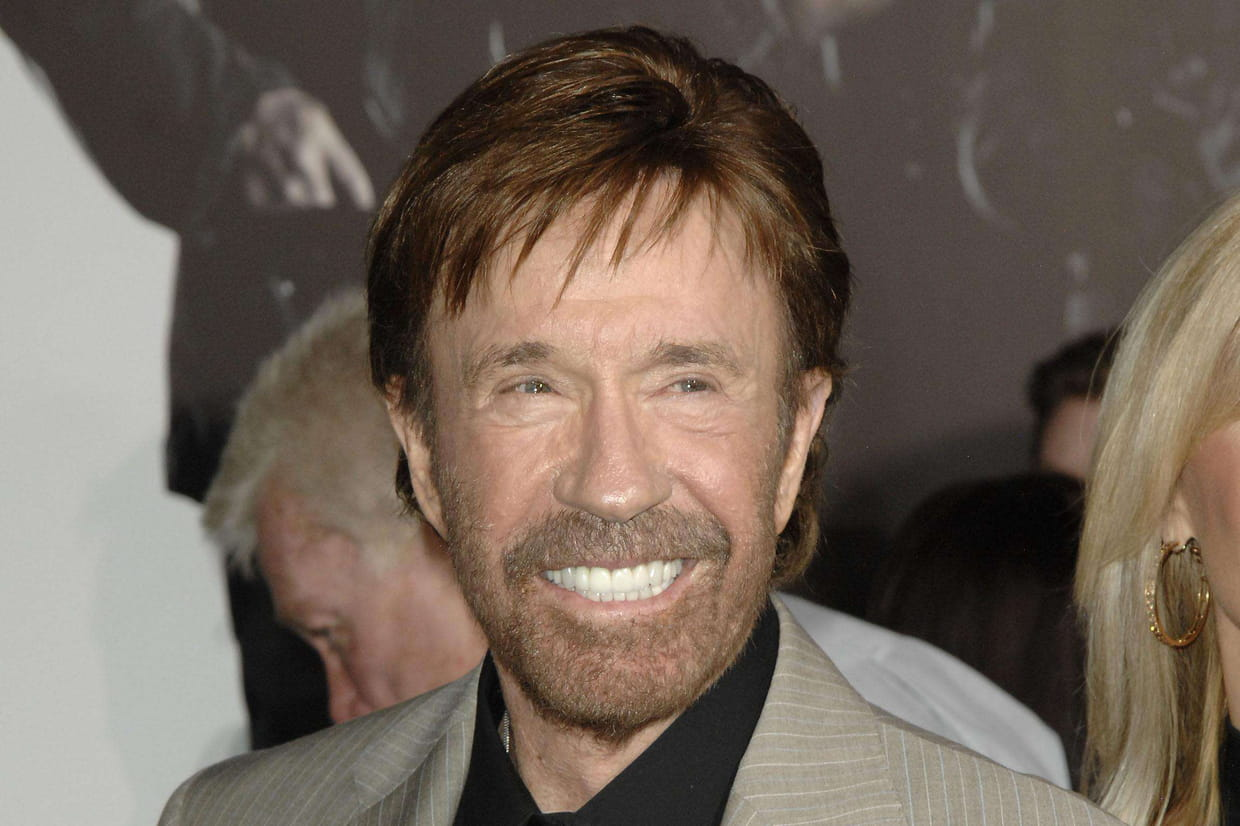 Picture chuck norris wife — pic 15