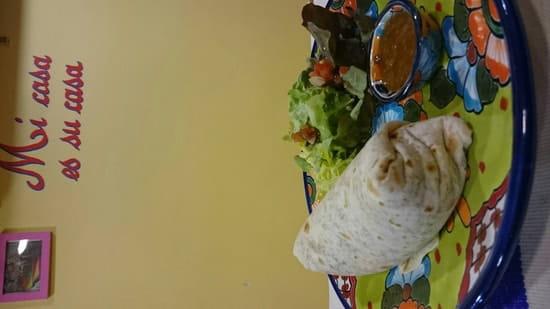 Plat : El Pueblo  - Burrito  -