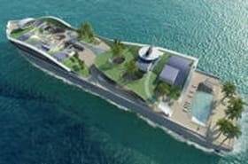 Island(e)Motion, le yacht qui ressemble à une île