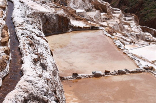Terrasses de sel