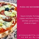 Pizza Camilla  - La pizza du mois de novembre ! -   © Pizza Camilla