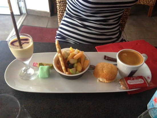 Restaurant : Les Canailles  - Café gourmand -