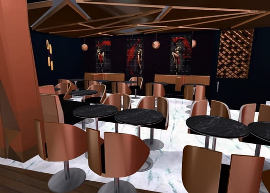 Hipster Lounge  - Un cadre Trendy Chic  -