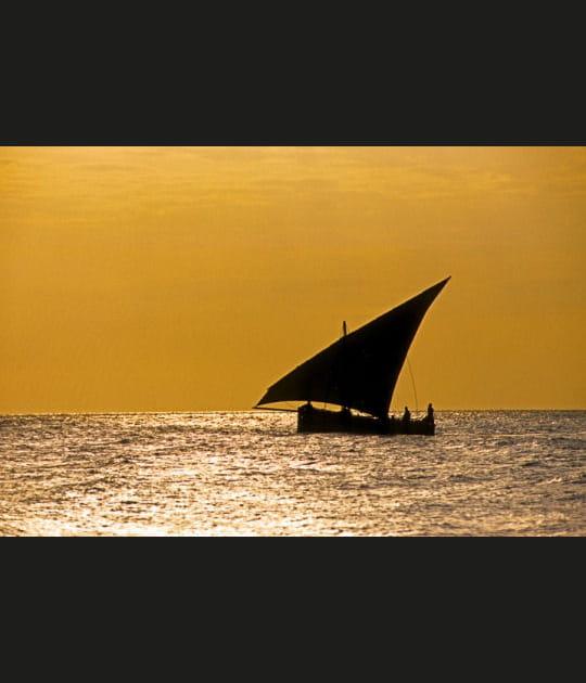 Crépuscule à Zanzibar