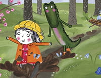 Rita et Crocodile : Jour de pluie
