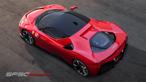 La Ferrari SF90Stradale en photos
