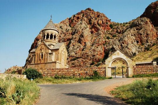 Le monastère de Noravank en Arménie