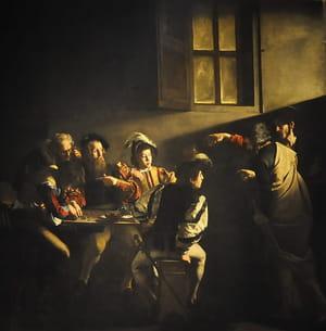 Le Caravage - La Vocation de Saint Matthieu