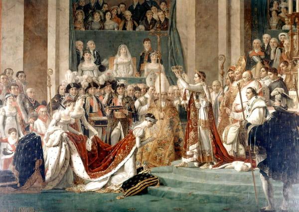 Napoléon Bonaparte se fait sacrer empereur le 2 décembre 1804
