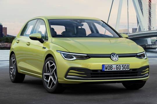 Nouvelle Volkswagen Golf: hybride et connectée! Les photos de la Golf 8