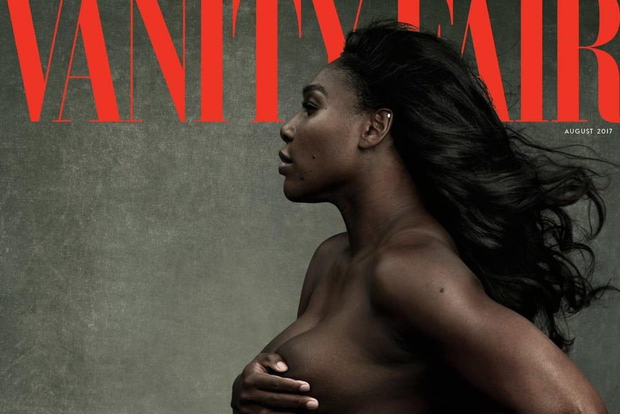 Serena Williams nue en couverture de