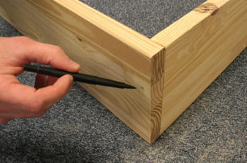 assembler les planches. Black Bedroom Furniture Sets. Home Design Ideas