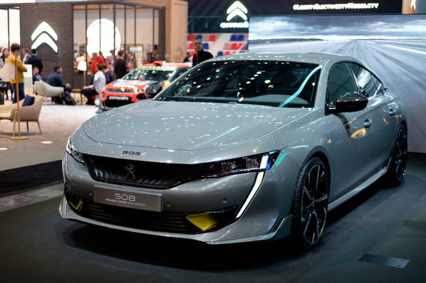 La 508 Peugeot Sport Engineered à Genève